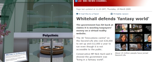 NHS project and BBC report
