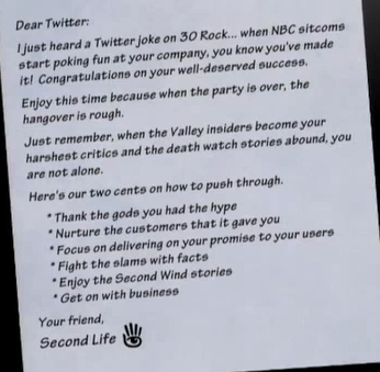 SL Letter to Twitter