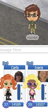 YoVille avatars with real life Facebook accounts