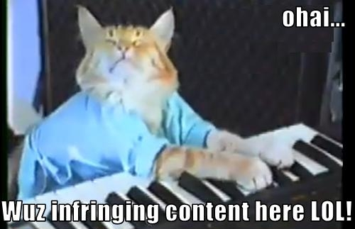 You Haz Infringing Second Life Content LOL