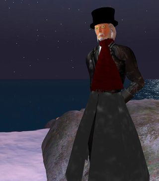 Shandon Loring as Scrooge