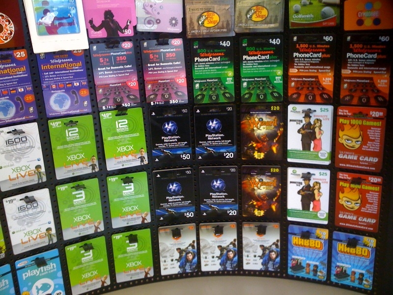 Virtual Currency cards