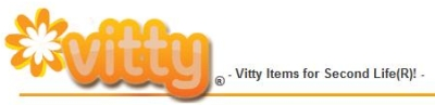 Vitty Second Life web commerce site