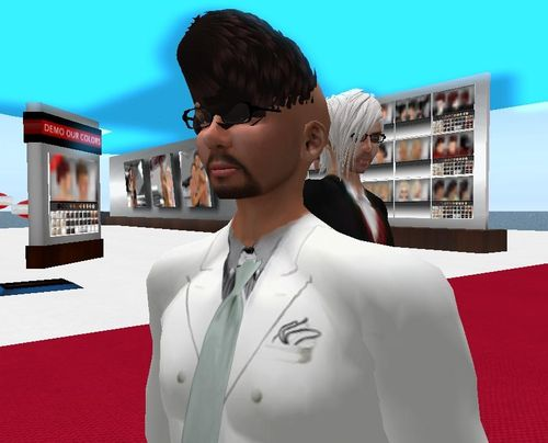 Second Life hair fail
