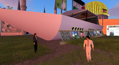 Flotilla Memorial Second Life