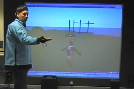 Second Life MoCap suit