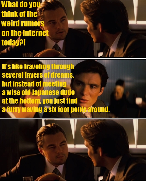 Internet Rumors like Inception