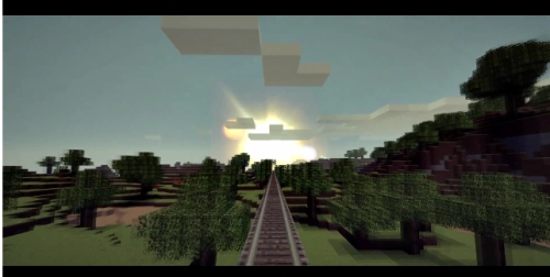 Minecraft Video Minecart