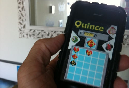 SL to iPhone Game Quince