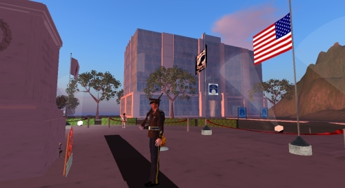 Tomb of the Unknown Soldier in Second Life