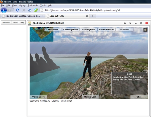 New World Notes: Do You Jibe? Another Unity 3D-Based Virtual World