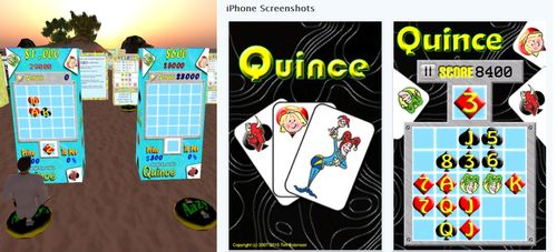 Quince Second Life iPhone