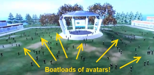 Opensim avatar breakthrough