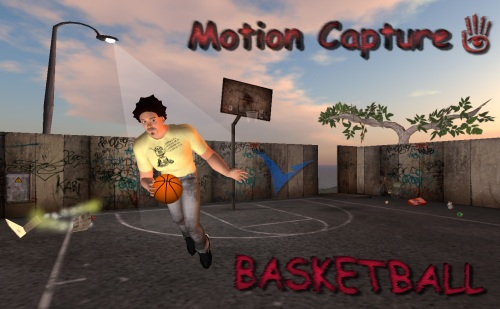 Mocap_Basketball_Second Life