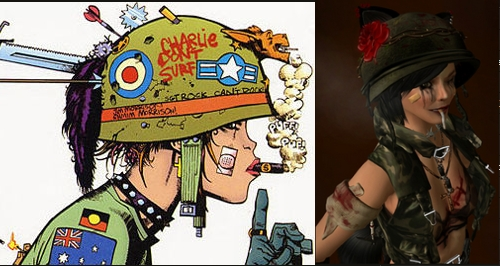 Second Life Tank Girl