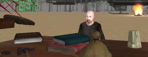 John Pathfinder Lester in Jibe Virtual World