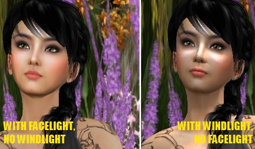 Windlight versus Facelight Second Life Demo