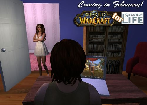 World of Warcraft in Second Life
