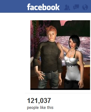Facebook on Second Life