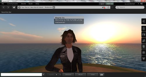 Kitely Running Second Life Viewer