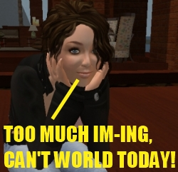 Quitting Second Life when it feels like a 3D chatroom