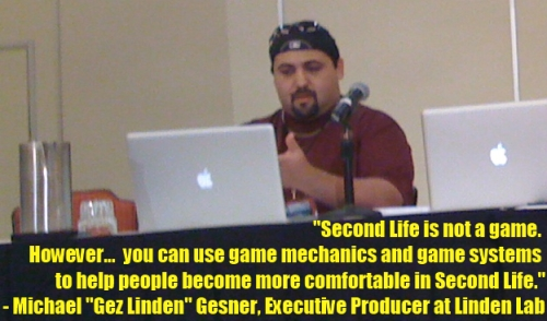 Michael Gesner on SL Game Mechanics