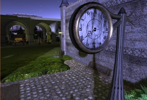 Steampunk machinima SL