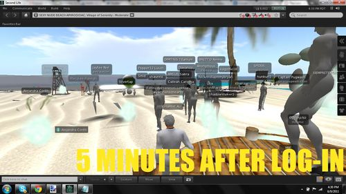 Second Life Lag Rez Fail 4
