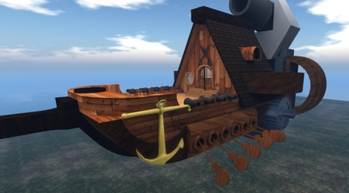 Mesh Pirate Ship
