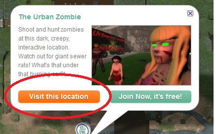 Zombie Games in Second Life