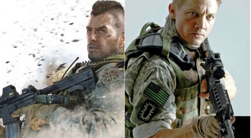 Call of Duty versus Hurt Locker