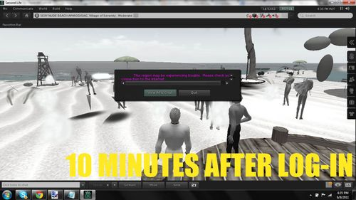Second Life Lag Rez Fail 5