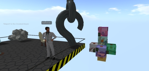 Crooked House in Second Life