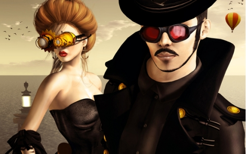 SL Steampunk Fashion
