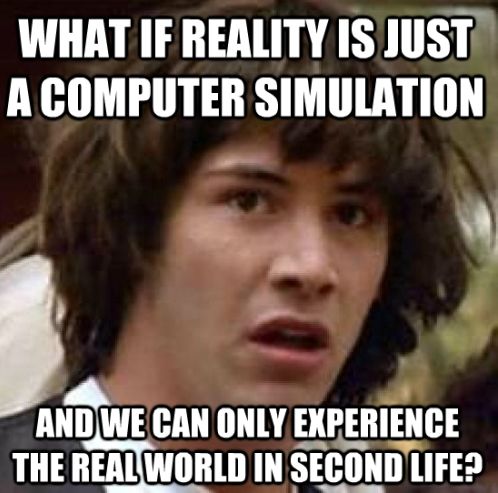 Conspiracy Keanu Second Life