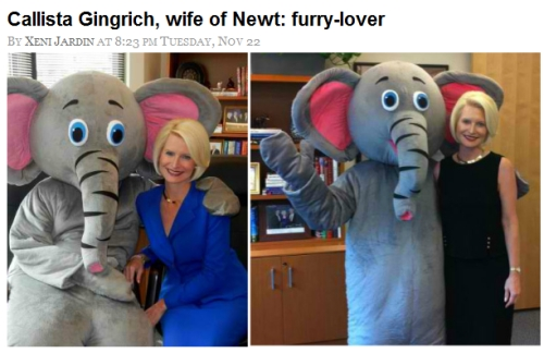 Newt Gingrich furry