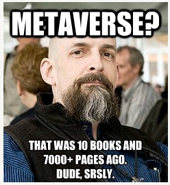 Neal Stephenson Metaverse Second Life