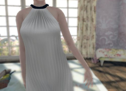 ColdLogic mesh dress