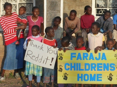 Reddit helps Kenyan orphanage
