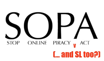 SOPA Threatens Second Life