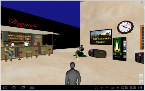 Lumiya Second Life viewer for Android tablets