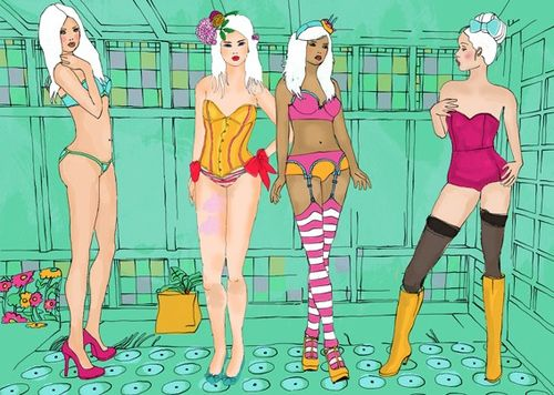 Dessous party by Elisandra