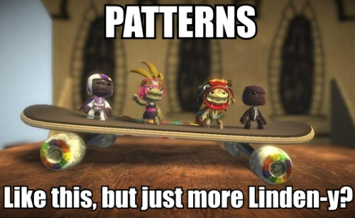 Patterns Linden Lab game