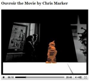 Chris Marker Second Life movie