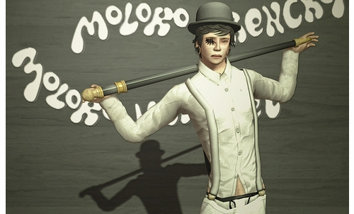 Second Life Clockwork Orange