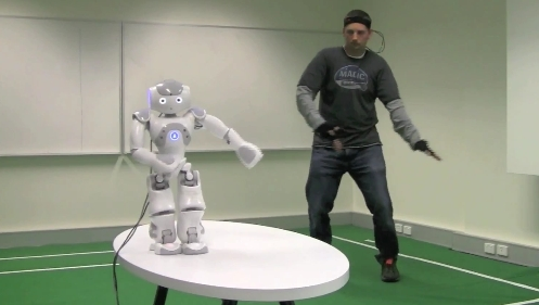 Real Time Mocap Robot control