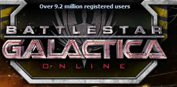 Battlestar Galactica MMO 9 million users