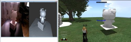 3D scanning mesh import into Second Life