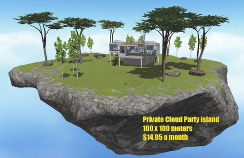 Private Cloud Party island