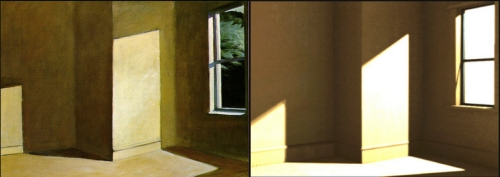 William Weaver dynamic SL shadow Edward Hopper